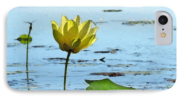 IPhone Case featuring the photograph Morning Lotus Pond by Deborah Smith