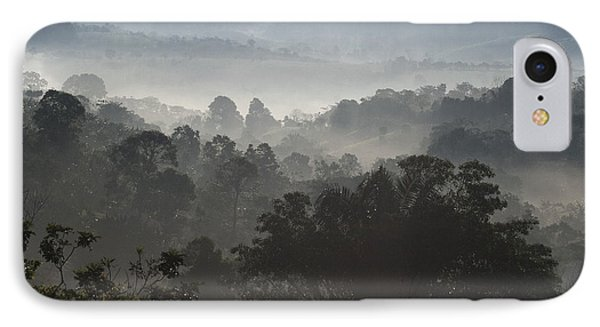 Morning Mist In Panama's Highlands Phone Case by Heiko Koehrer-Wagner
