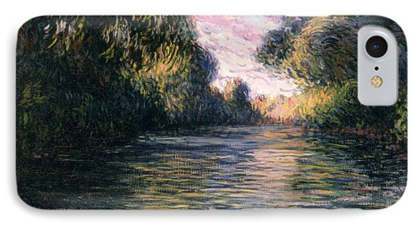 Morning On The Seine Phone Case by Claude Monet