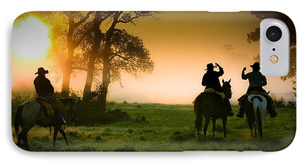 Morning Ride IPhone Case by Toni Hopper