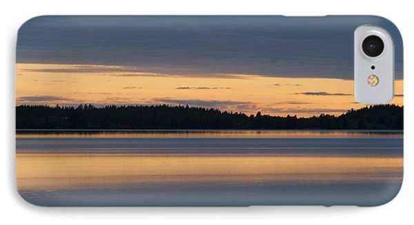 Morning Sun Rising At Arctic Sea Phone Case by Heiko Koehrer-Wagner