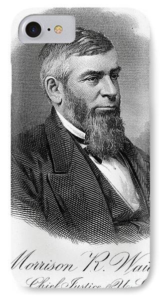 Morrison R. Waite (1816-1888) Phone Case by Granger