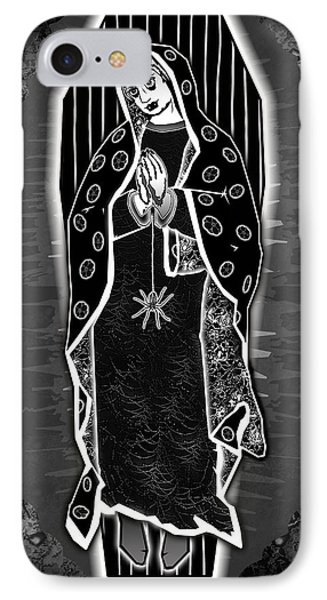 Morticia Guadalupe' Phone Case by Travis Burns