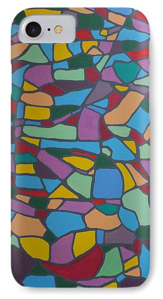 Mosaic Journey IPhone Case by Angelo Thomas