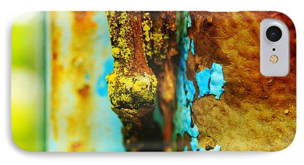 Moss And Rust II Phone Case by Toni Hopper