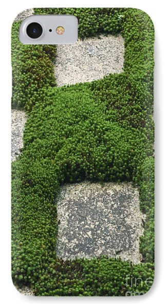 Moss And Stepping Stones Phone Case by Rob Tilley
