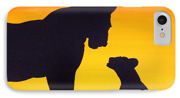 Mother Africa 3 IPhone Case by Michael Cross