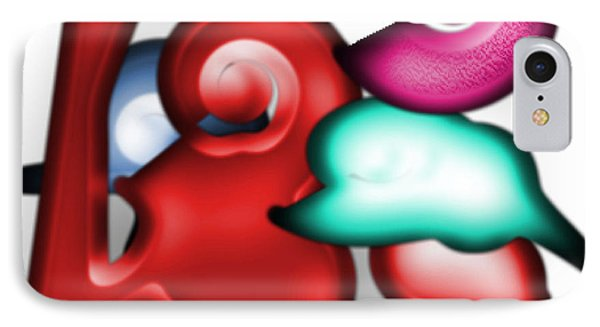 IPhone Case featuring the digital art Mother And Child In The Daylight by George Pedro