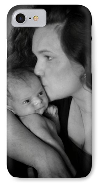 Mother And Child IPhone Case by Kelly Hazel