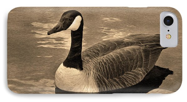 Mother Goose Phone Case by Sergio Aguayo
