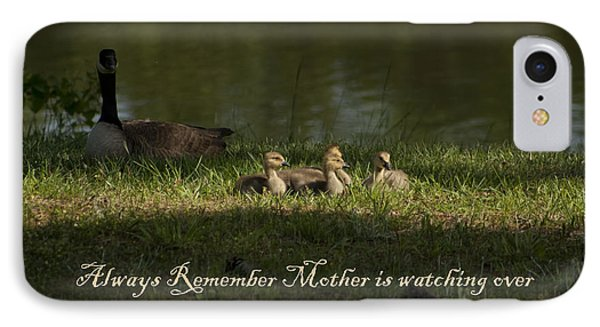 Mother's Watchful Eye Phone Case by Kathy Clark