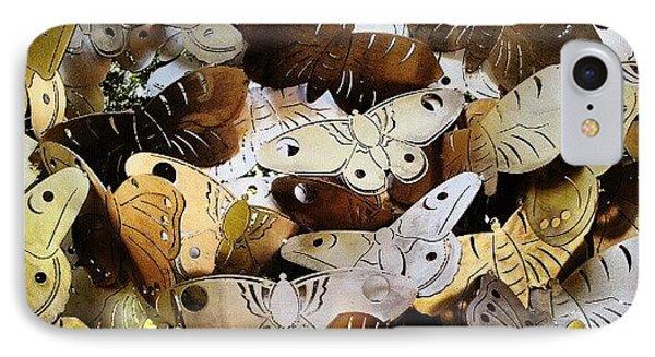 Moths IPhone Case by Natasha Futcher