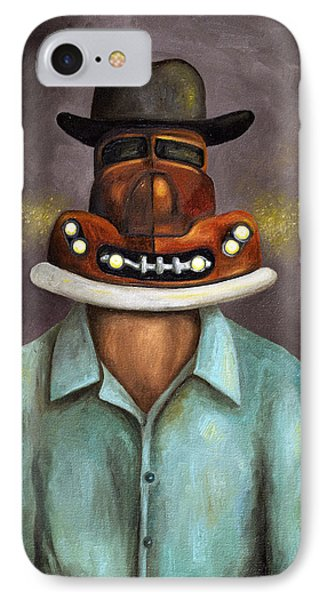 Motor Head IPhone Case by Leah Saulnier The Painting Maniac