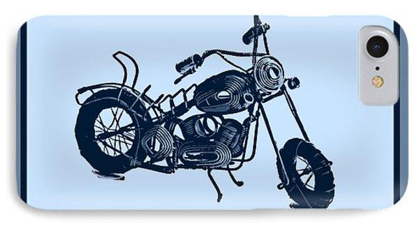 Motorbike 1a Phone Case by Mauro Celotti