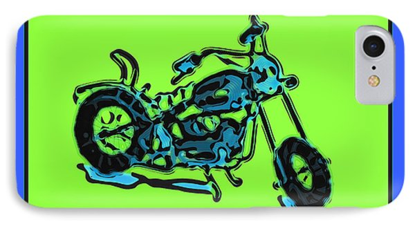 Motorbike 1c IPhone Case by Mauro Celotti
