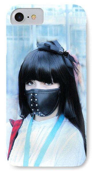 Motorbike Girly Mask Phone Case by Viktor Savchenko