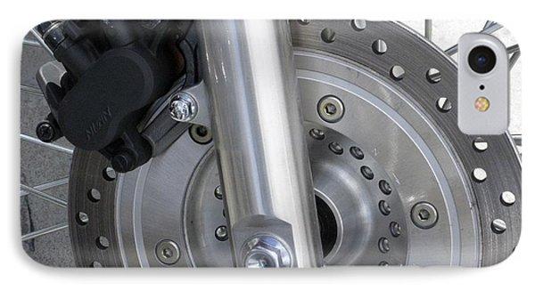 Motorcycle Disc Brake Phone Case by Tony Craddock
