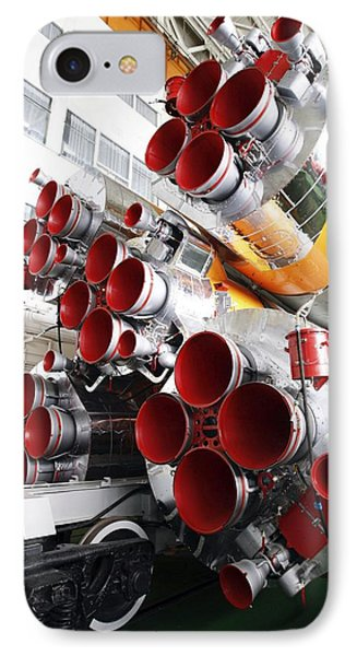 Motors Of A Soyuz Rocket IPhone Case