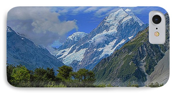 IPhone Case featuring the photograph Mount Cook by David Gleeson