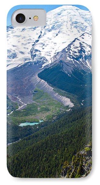 Mount Rainier Xi IPhone Case
