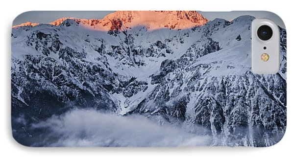 Mount Rolleston In The Dawn Light Phone Case by Colin Monteath