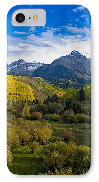 Mount Sneffels Under Autumn Sky IPhone Case by Greg Nyquist