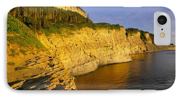 Mount St Alban Cliffs At Sunset Photograph By Yves Marcoux