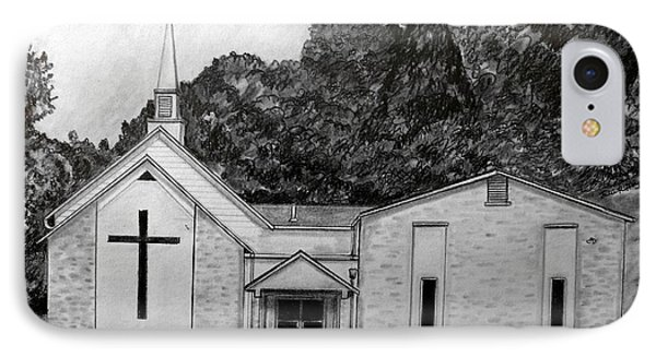 Mount Union Church Of The Brethren Phone Case by Julie Brugh Riffey