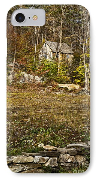 Mountain Cabin Phone Case by John Greim