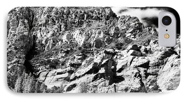 Mountain Climbing IPhone Case by John Rizzuto
