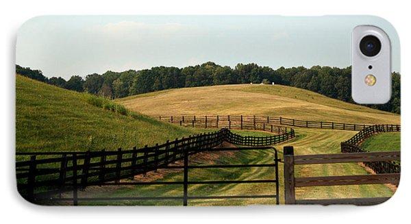 Mountain Farmland IPhone Case