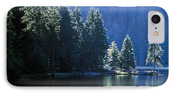 Mountain Lake In Arbersee, Germany Phone Case by John Doornkamp