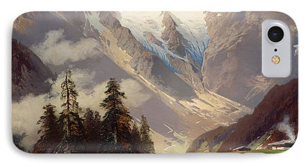 Mountain Landscape With The Grossglockner Phone Case by Nicolai Astudin