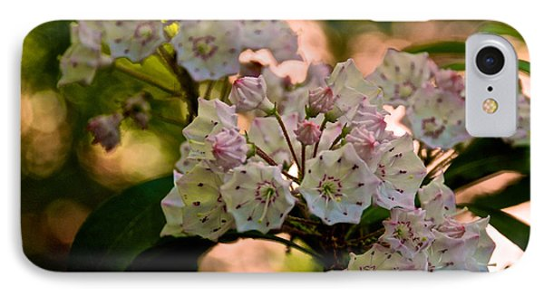 Mountain Laurel Flowers 2 IPhone Case