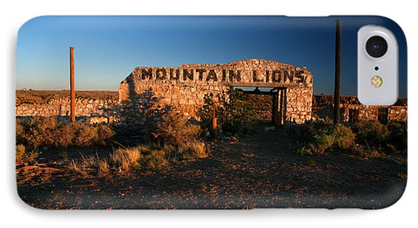 IPhone Case featuring the photograph Mountain Lions At Two Guns by Lon Casler Bixby