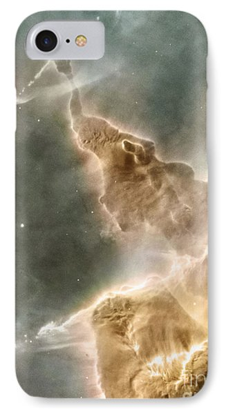 Mountain Of Cold Hydrogen Phone Case by Nasa