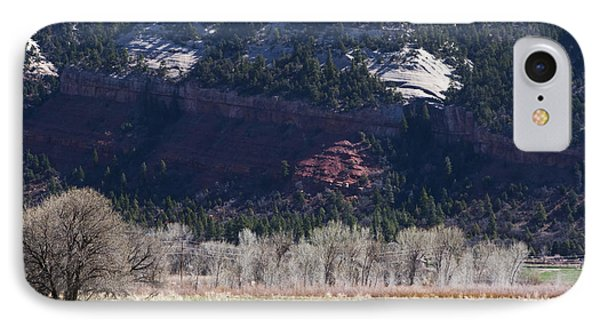 IPhone Case featuring the photograph Mountain Pasture by Lorraine Devon Wilke
