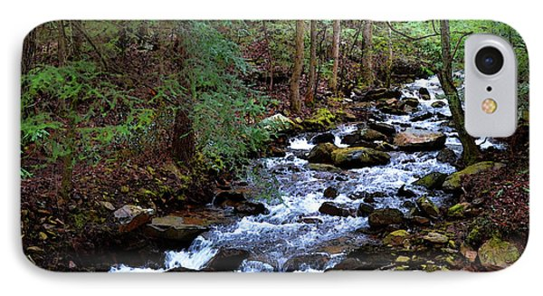 IPhone Case featuring the photograph Mountain Stream by Paul Mashburn