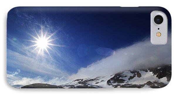 Mountain Sun IPhone Case by Michele Cornelius