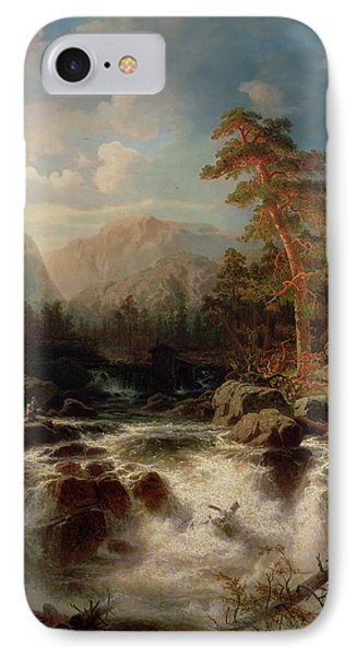 Mountain Torrent Smaland Phone Case by Marcus Larson