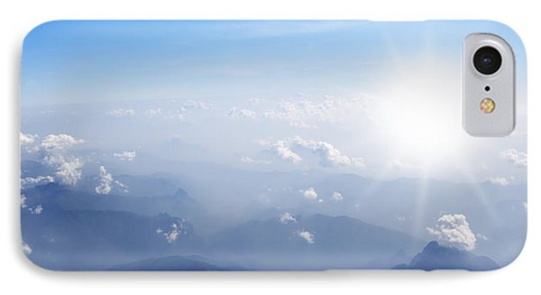 Mountain With Blue Sky And Clouds Phone Case by Setsiri Silapasuwanchai