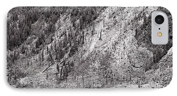 Mountainside At Hayden Valley Yellowstone IPhone Case by Steve Gadomski