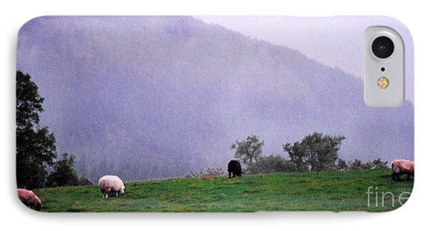 Mourn Mountains Approaching Rain Phone Case by Thomas R Fletcher
