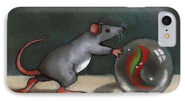 Mouse Rolling Marble Phone Case by Joyce Geleynse