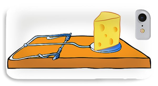 Mousetrap With Cheese - Trap IPhone Case