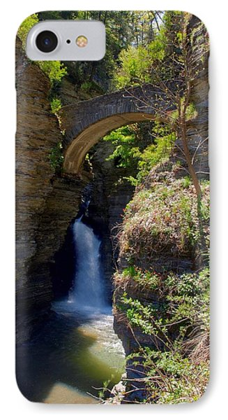 Mouth Of The Glen Watkins Glen State Prk Phone Case by Joshua House
