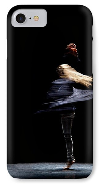 IPhone Case featuring the photograph Moved Dance. by Raffaella Lunelli