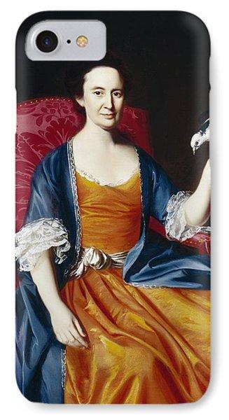 Mrs. Benjamin Hallowell Phone Case by John Singleton Copley