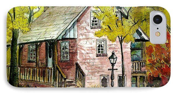 IPhone Case featuring the painting Mrs. Henry's Home 2 by Gretchen Allen