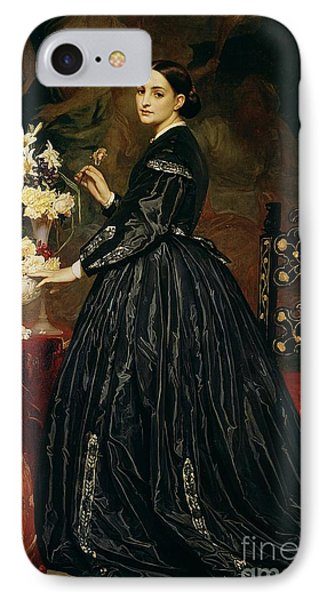 Mrs James Guthrie Phone Case by Frederic Leighton